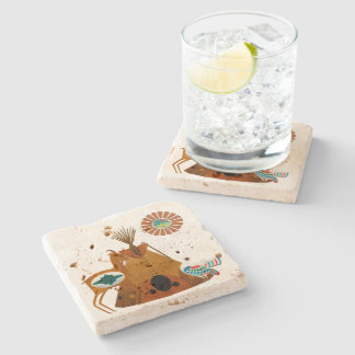 Mother Earth Stone Coaster