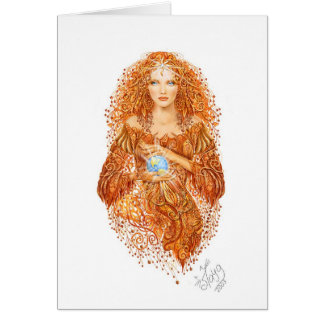 Mother-Earth Greeting Card