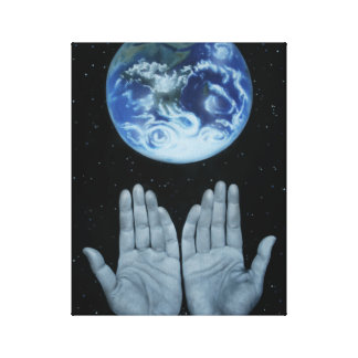Mother Earth, nature appreciation earth day canvas Canvas Print