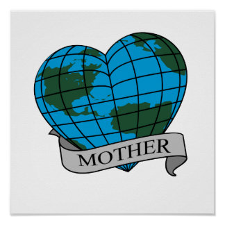 MOTHER EARTH POSTER