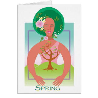 Mother Earth- Spring Card