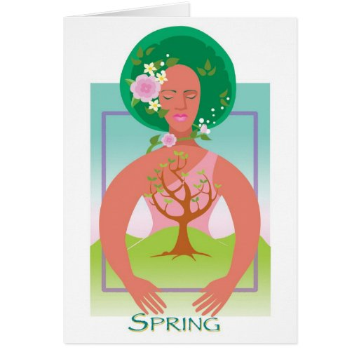 Mother Earth- Spring Greeting Cards