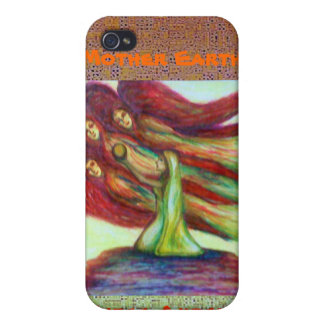 Mother Earth & Three Angels iPhone 4/4S Covers