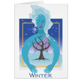 Mother Earth- Winter Card