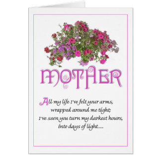 Mother for Mothers Day ...All My Life... Card