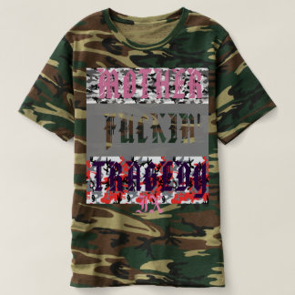 """Mother Fuckin' Tragedy"" x TrLr Trash Camo Tee"