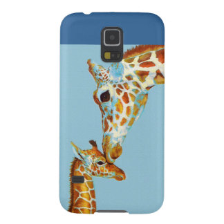 mother giraffe samsung phone case