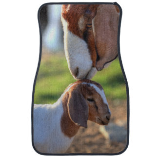 Mother Goat & Baby Car Mat