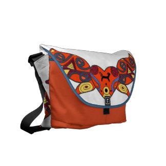 Mother Goddess Ukrainian Folk Art Messenger Bag
