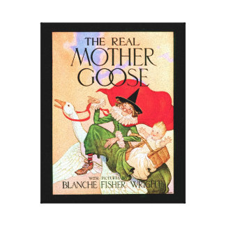 Mother Goose Canvas Prints
