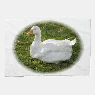 Mother goose tea towel