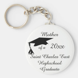 Mother, Grandmother ect. of a 20xx Grad Basic Round Button Key Ring