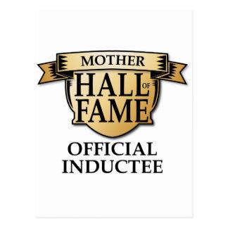 Mother Hall of Fame Postcard