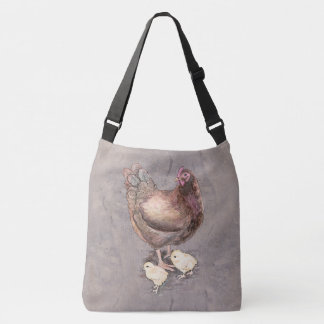 Mother Hen Crossbody Bag
