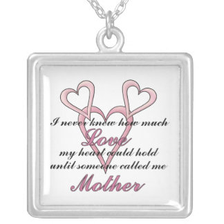 Mother (I Never Knew) Mother's Day Necklace