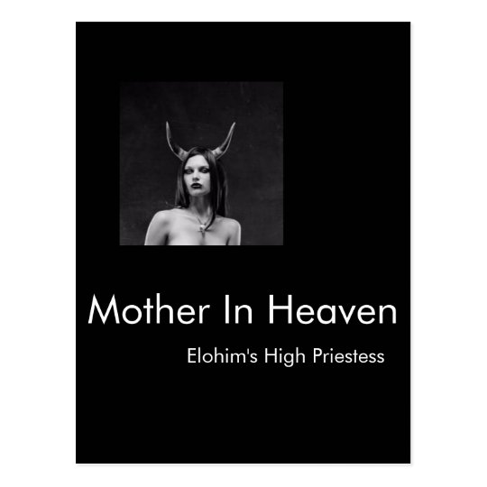 Mother In Heaven Dot Com Detention Postcard