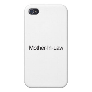 Mother-In-Law.ai iPhone 4 Case
