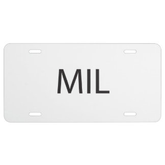 Mother-In-Law ai License Plate