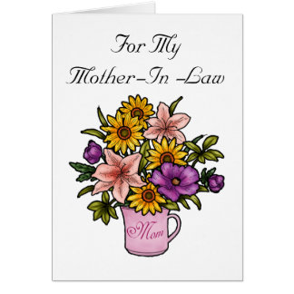 Mother-In-Law Card
