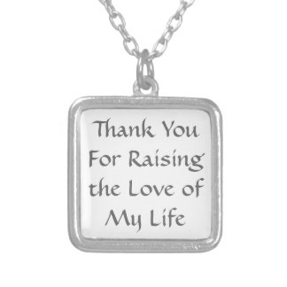 Mother-In-Law Gift Necklace - Love of My Life