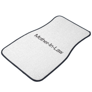 Mother-In-Law Car Mat