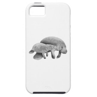 MOTHER MANATEES LOVE iPhone 5 CASE