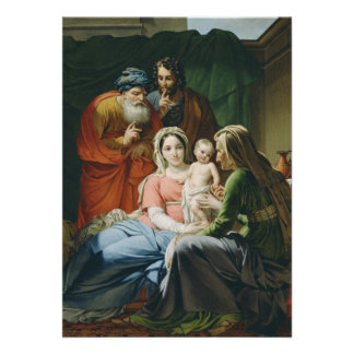 Mother Mary and Baby Jesus Custom Announcements