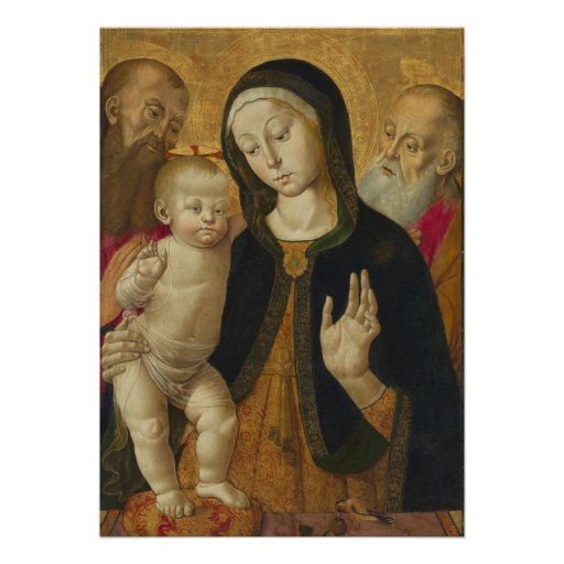 mother mary and baby jesus invitations