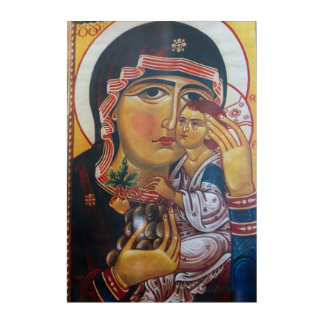 Mother Mary And Jesus Art
