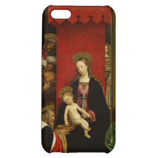 Mother Mary and Jesus Cover For iPhone 5C