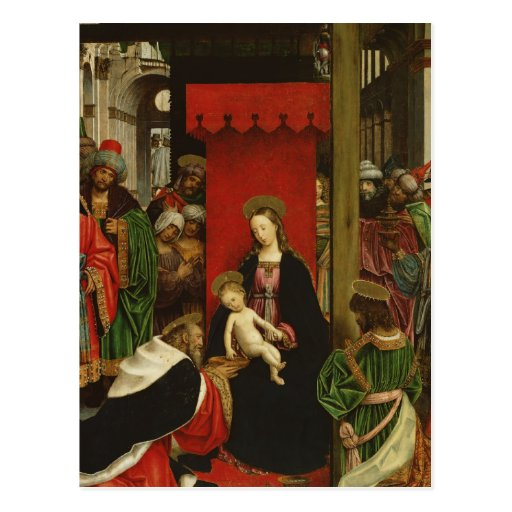 Mother Mary and Jesus Postcards