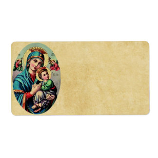 Mother Mary Avery Label