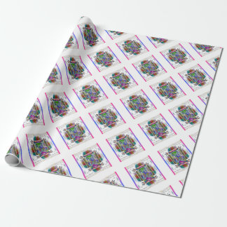 Mother Mary Gift Wrapping Series Wrapping Paper