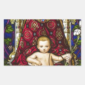 Mother Mary.jpg Rectangular Sticker
