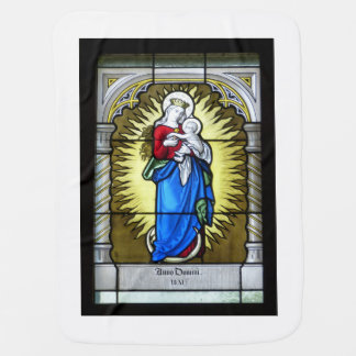 Mother Mary - Mother of God Baby Blanket