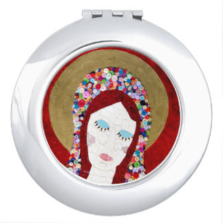 Mother Mary Compact Mirror