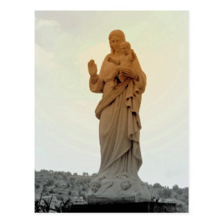 Mother Mary Post Card