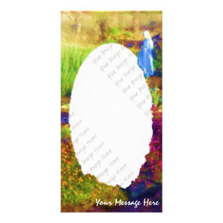 Mother Mary s Garden photocard Photo Greeting Card