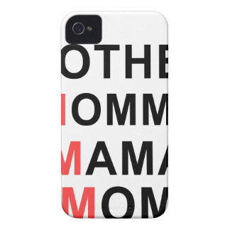 Mother, Mommy, Mama, Mom iPhone 4 Case-Mate Case