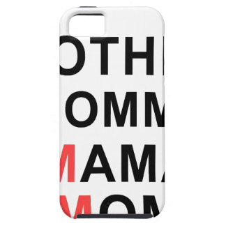 Mother, Mommy, Mama, Mom iPhone 5 Cover