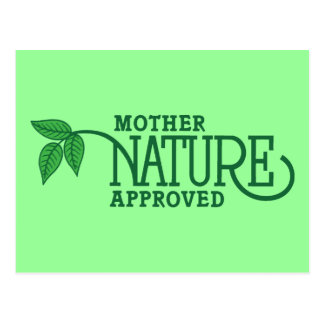 Mother Nature Approved Post Cards