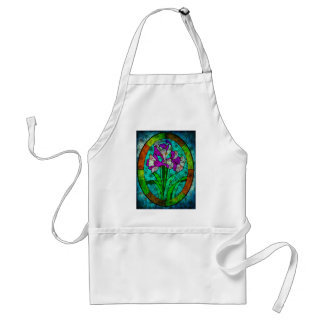 MOTHER NATURE CALLING FROM BEYOND THE STAIN GLASS STANDARD APRON