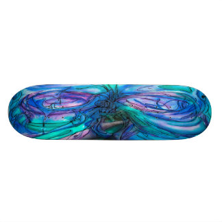 Mother Nature Fairy Tree watercolor painting 19.7 Cm Skateboard Deck