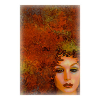 Mother Nature Loves Fall Poster