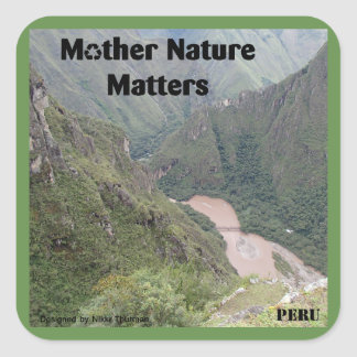 Mother Nature Matters Sticker