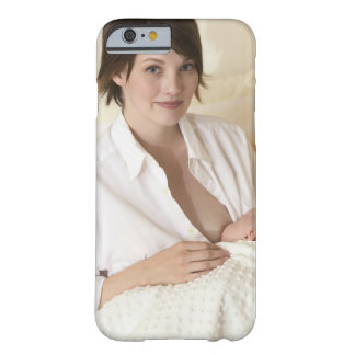 Mother nursing baby barely there iPhone 6 case