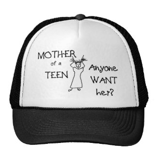 Mother of a teen anyone want her trucker hat