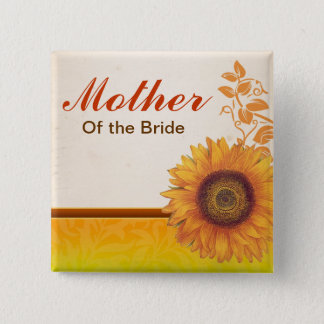 mother of bride button