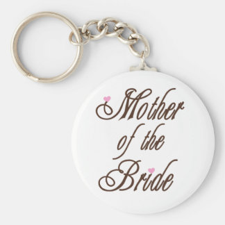 Mother of Bride Classy Browns Key Ring