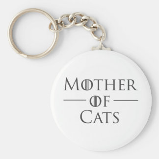Mother of Cats Key Ring
